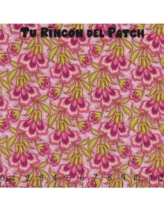Anthology II: triángulos floridos rosas