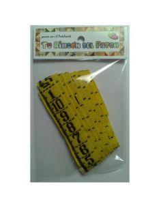 Etiquetando: Yellow metro sewing