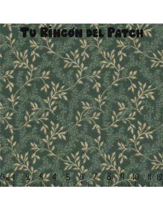 Floral Medley: Verde oscuro