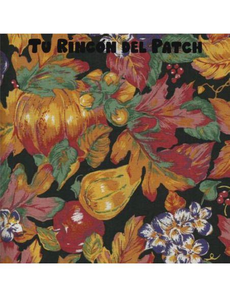 Autumn: Foliage and acorns