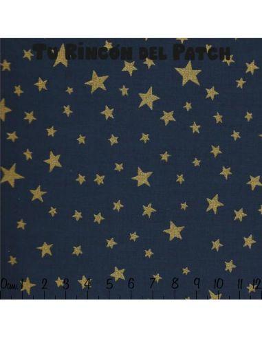 Noel: Estrellas sobre azul