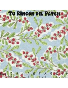 Merry Stitches: Bayas en azul
