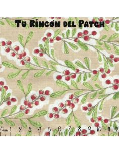 Merry Stitches: Bayas en crema