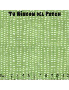 Merry Stitches: Moteado en verde