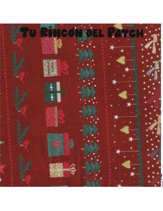Christmas: Etiquetas rojo