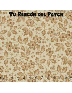 In Stitches: Crema. Hojas