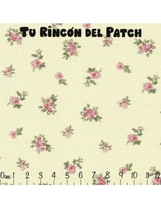 Patch: Rosa. Florecitas