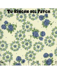 Patch: Azul. Coronas