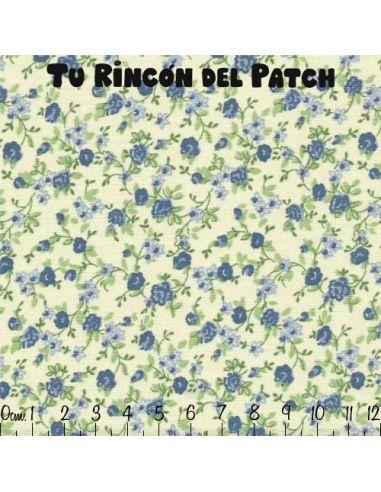 Patch: Azul. Ramitas