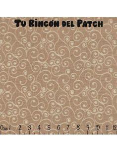 Harmony 3: (65)  Espiral marrón crema