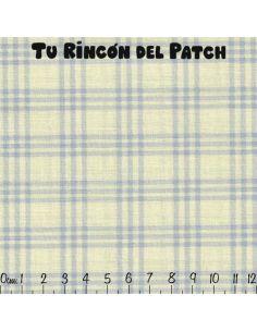 Patch: Azul. Cuadrícula