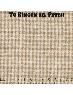 Flannel: Minst, beige tramado