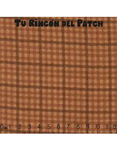 Flannel: Cuadros, marrón claro