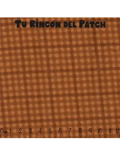 Flannel: Cuadros, ocre