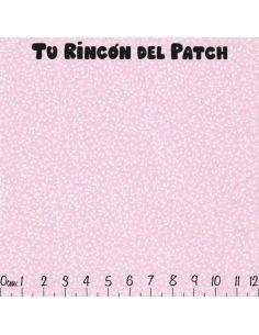 Trasera. Doré: Ramitas rosa.