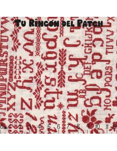 Mar de Lino: Kote rojo letras