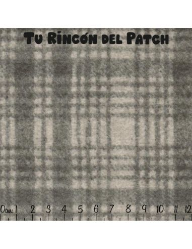 Flannel: (310) Cuadros, gris claro