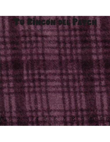 Flannel: (330) Cuadros, morado