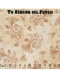 In Stitches: Crema claro Perfilados
