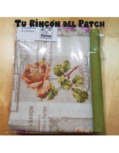 Lonetas: Flores vintage + Verde