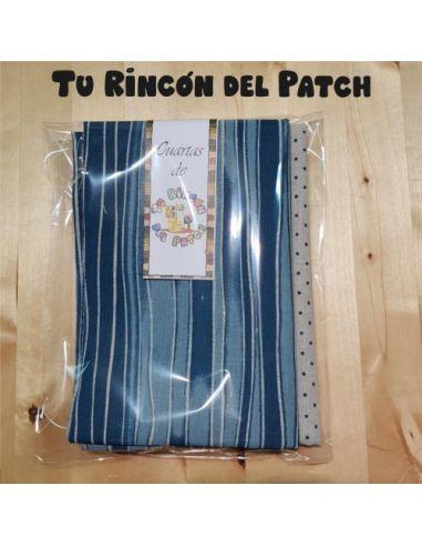 Lino: Kote Azul rayas + Topitos