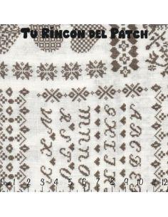 Mar de Lino: Gris abecedario
