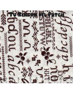 Mar de Lino: Kote marrón letras