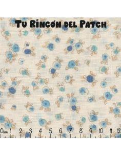 Mar de Lino: Linco Azul florecillas