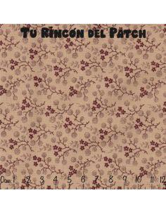 Larisa: ramitas sobre marrón (50071)