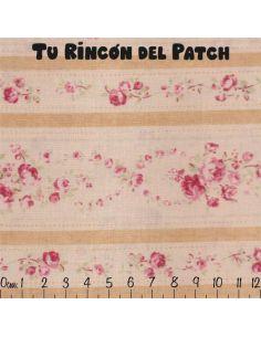 Durham Quilt Collection: cenefas de flores