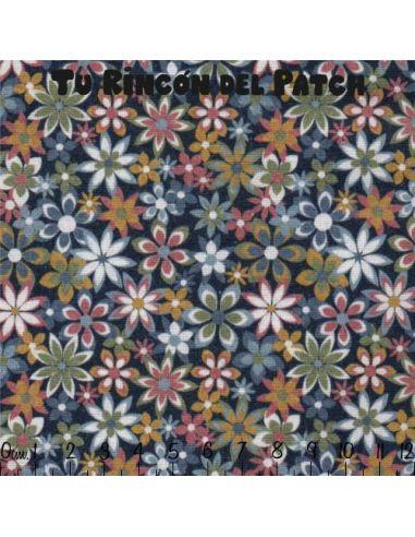 Sinfonía: Flores sobre grisáceo