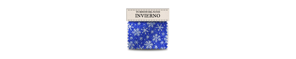 Telas baratas de patchwork de invierno. turincondelpatch.com