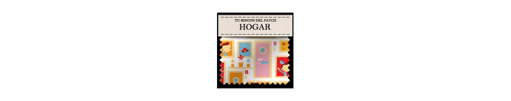 Telas de patchwork con motivos del hogar. turincondelpatch.com