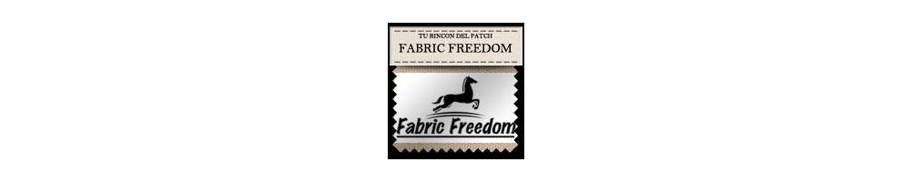 Telas baratas de patchwork de Fabric Freedom. turincondelpatch.com