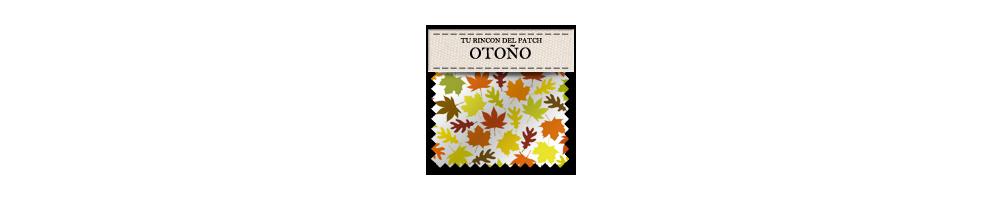 Telas baratas de patchwork para el otoño. turincondelpatch.com