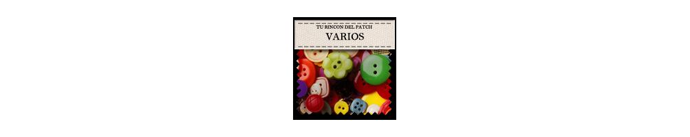 Botones baratos variados. turincondelpatch.com