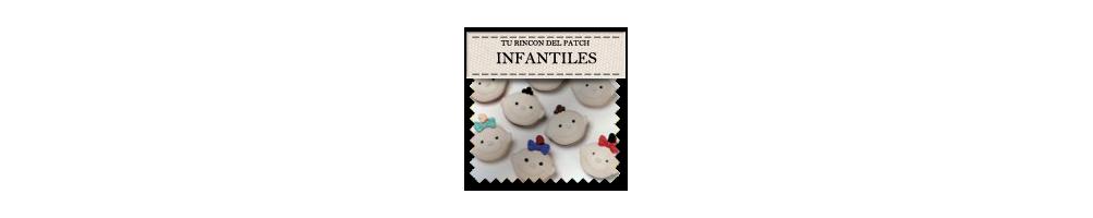 Botones baratos infantiles. turincondelpatch.com