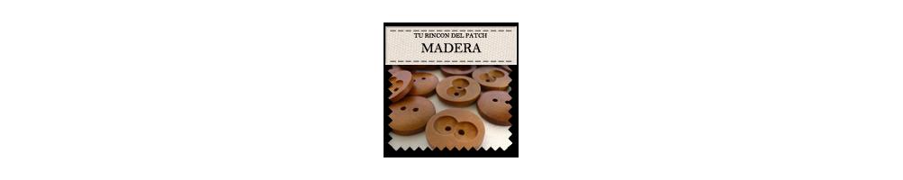 Botones baratos de madera. turincondelpatch.com