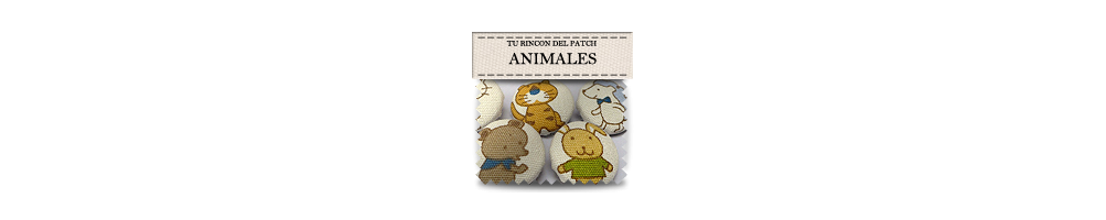 Animals shaped buttons
