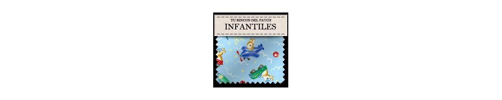 Telas infantiles de patchwork económicas. turincondelpatch.com