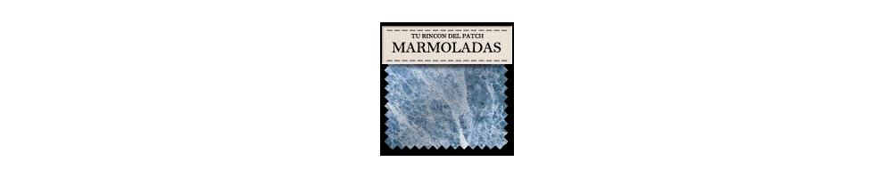 Telas baratas de patchwork marmoladas. turincondelpatch.com