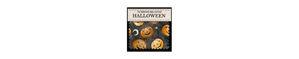 Telas baratas de halloween para labores de patchwork. turincondelpatch.com