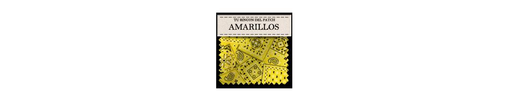 Telas económicas de patchwork de color amarillo. turincondelpatch.com