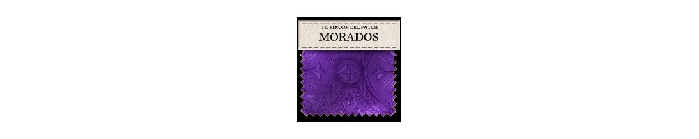 Telas económicas de patchwork moradas. turincondelpatch.com