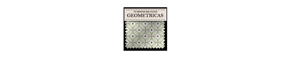 Telas baratas con formas geométricas de patchwork. turincondelpatch.com