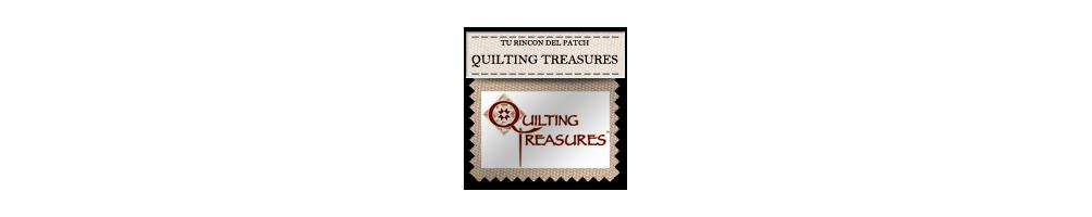 Telas baratas de patchwork de Quilting Treasures. turincondelpatch.com