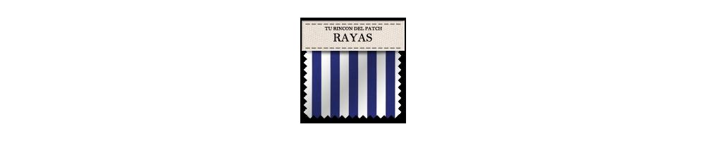 Telas baratas de patchwork con rayas. turincondelpatch.com