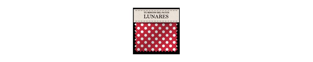Telas económicas de patchwork de lunares. turincondelpatch.com